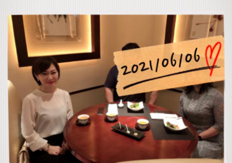 2021/06/06成婚ランチ