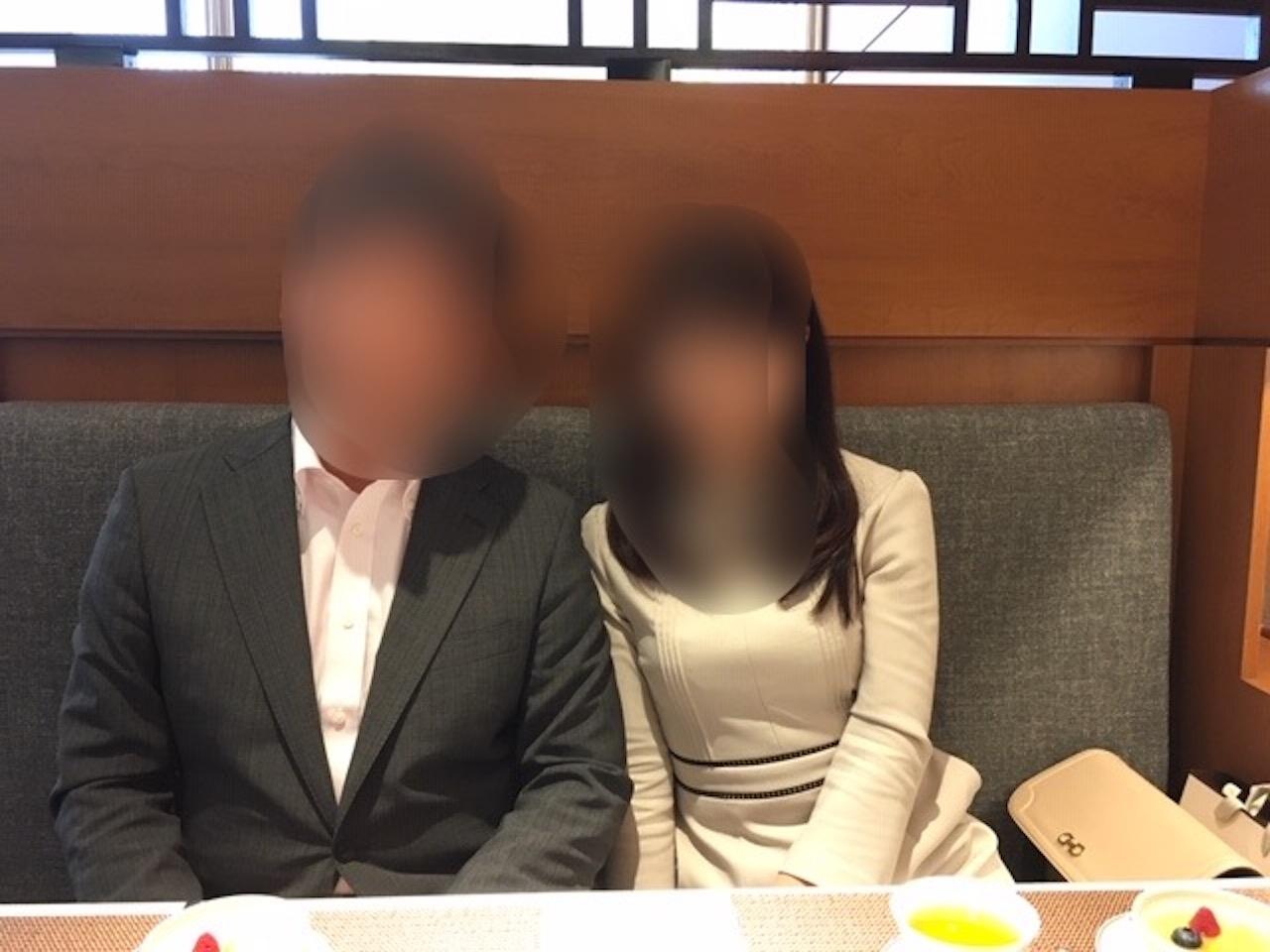 2019/4/14ご成婚ランチ カップル