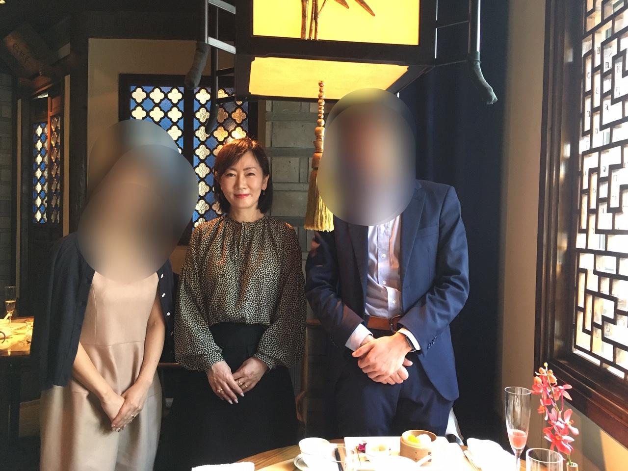 ご成婚カップルとペニンシュラ東京にて