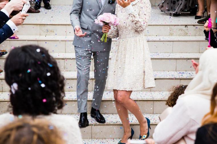 バツイチ同士の結婚式